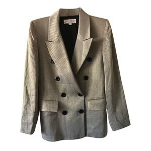 Yves Saint Laurent Gold Tone Blazer